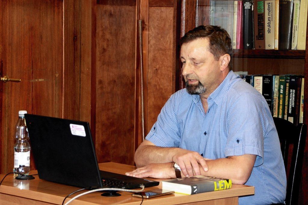 Prof. ATH dr hab. Marek Bernacki (Katedra Polonistyki ATH)
