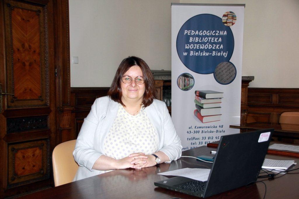Mgr Anna Niemiec-Warzecha (Dyrektor PBW w Bielsku-Białej)